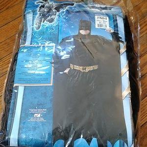 Plus size adult male Batman dark knight costume